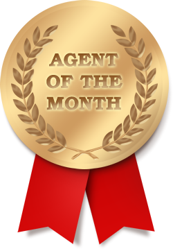 agent of the month award
