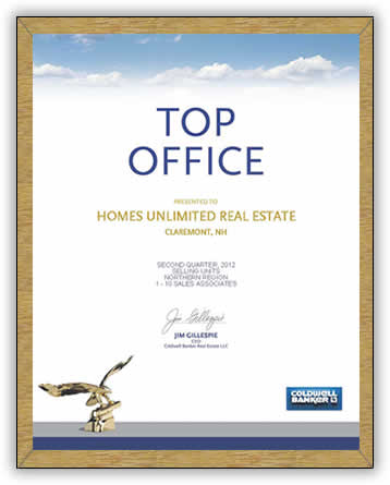 Coldwell Banker top office award